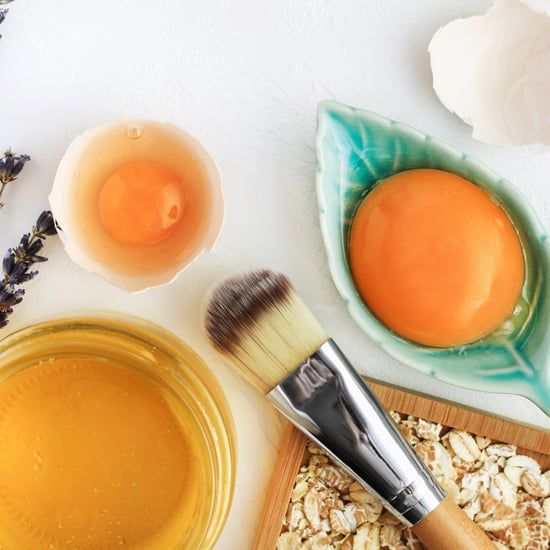 Face Mask with Egg Whites