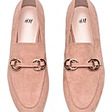 H&M Pink Loafers