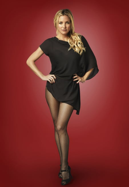 Kate Hudson as Cassandra on Glee.