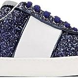 Valentino Glitter Flycrew Rockstud Sneakers