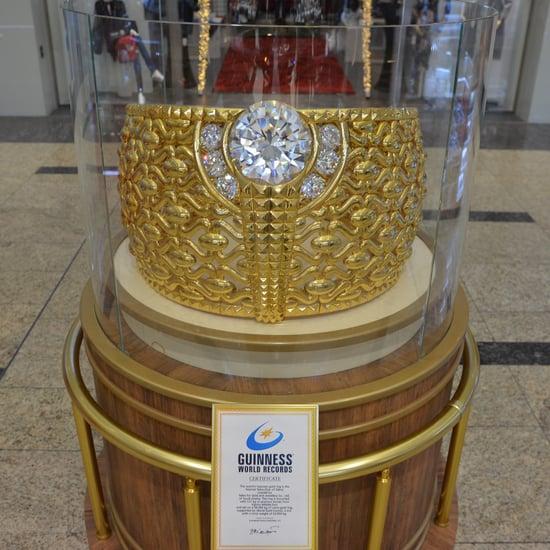 الإمارات تحتضن أكبر خاتم ذهب في العالم