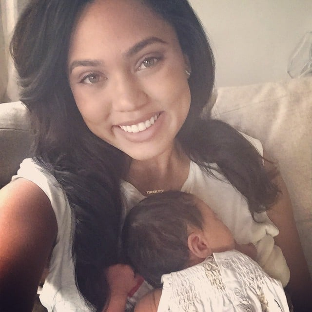 """On the biggest mama change after baby number two: """"I think I've learned that I'm able to manage more than I thought I could. I was really scared before having Ryan about how I was going to manage everything, but it's kind of just happened and it's going OK."""""""