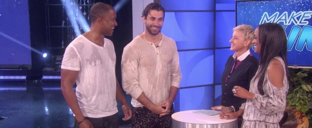 The Bachelorette: Rachel's Suitors Just Had a Wet T-Shirt Contest