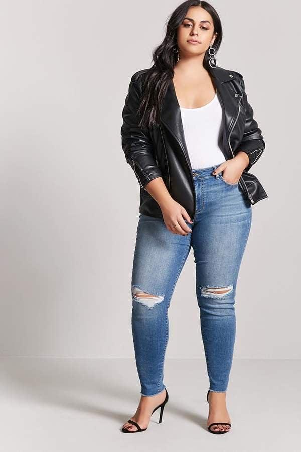 4036c9a1ef876 Forever 21 Skinny Jeans