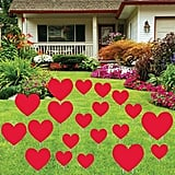 Valentine's Day Red Hearts Yard Decoration