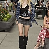 Photos of Gossip Girl Cast On Set in NYC