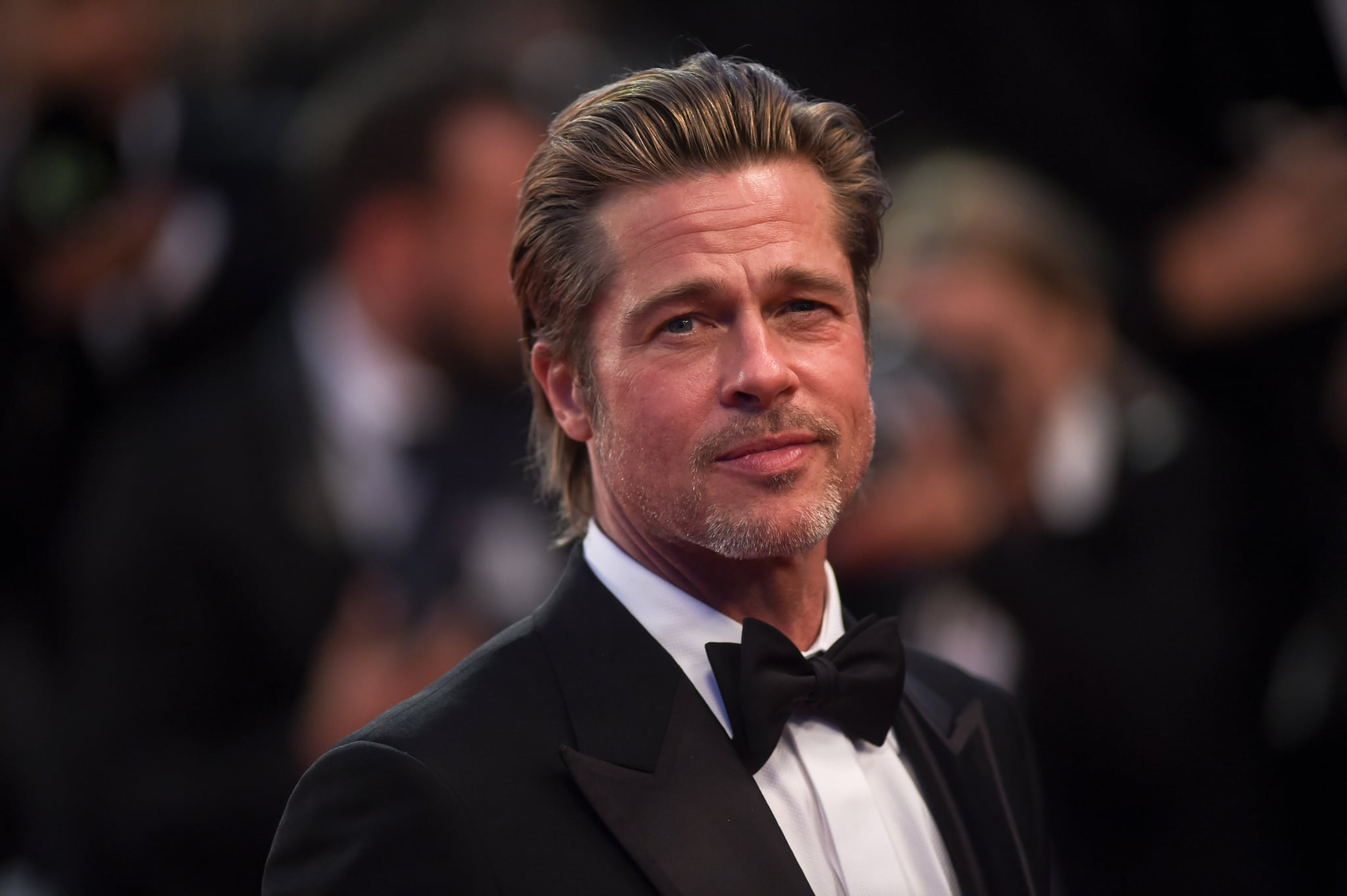 CANNES, FRANCE - MAY 21: Brad Pitt attends the screening of