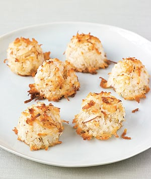 Lemon Almond Coconut Macaroon Recipe