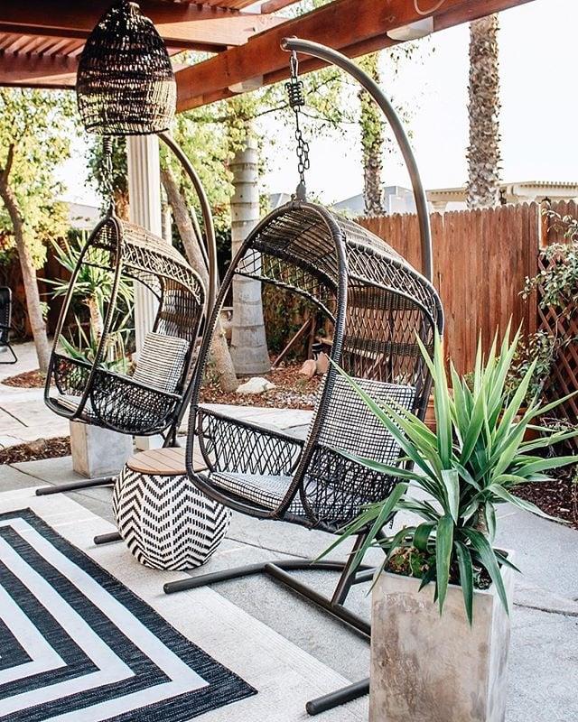 Swingasan Mocha Hanging Chair | Pier 1 Imports Outdoor ...