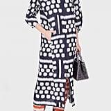 Zero + Maria Cornejo Beetle Kibibi Print Dress