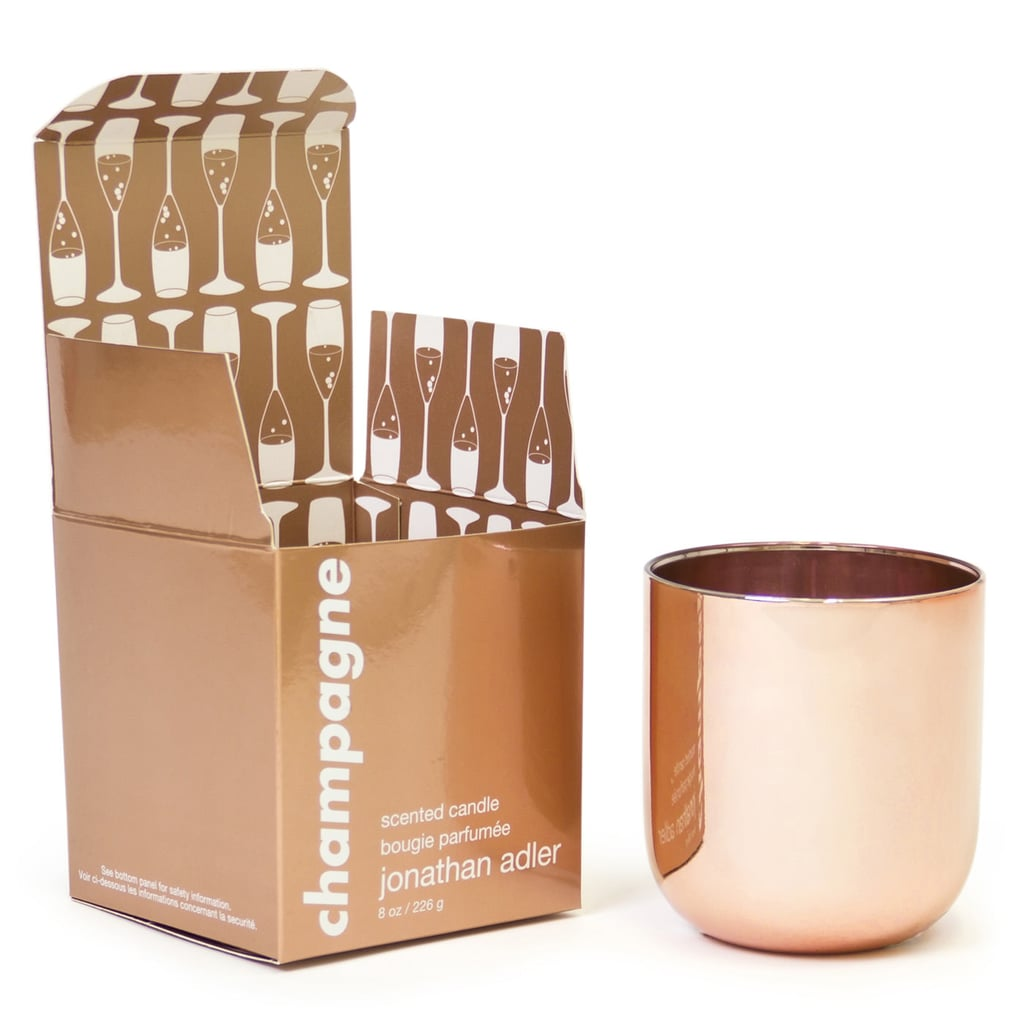 jonathan adler champagne pop candle 42 - Gold Home Decor