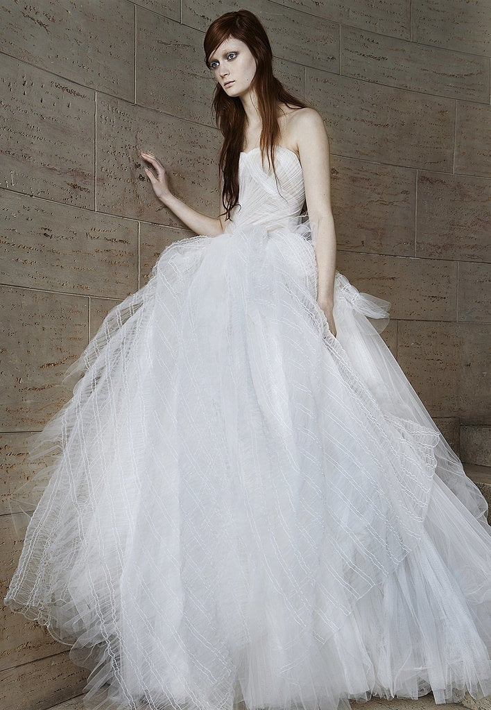 ef5bc85b468b9 Vera Wang Bridal Spring 2015 | What Wedding Dress Will Kim ...