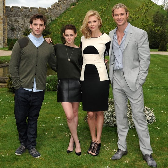 Kristen Stewart and Charlize Theron England Pictures