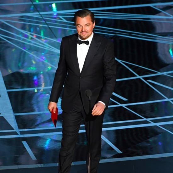 Leonardo DiCaprio aux Oscars 2017