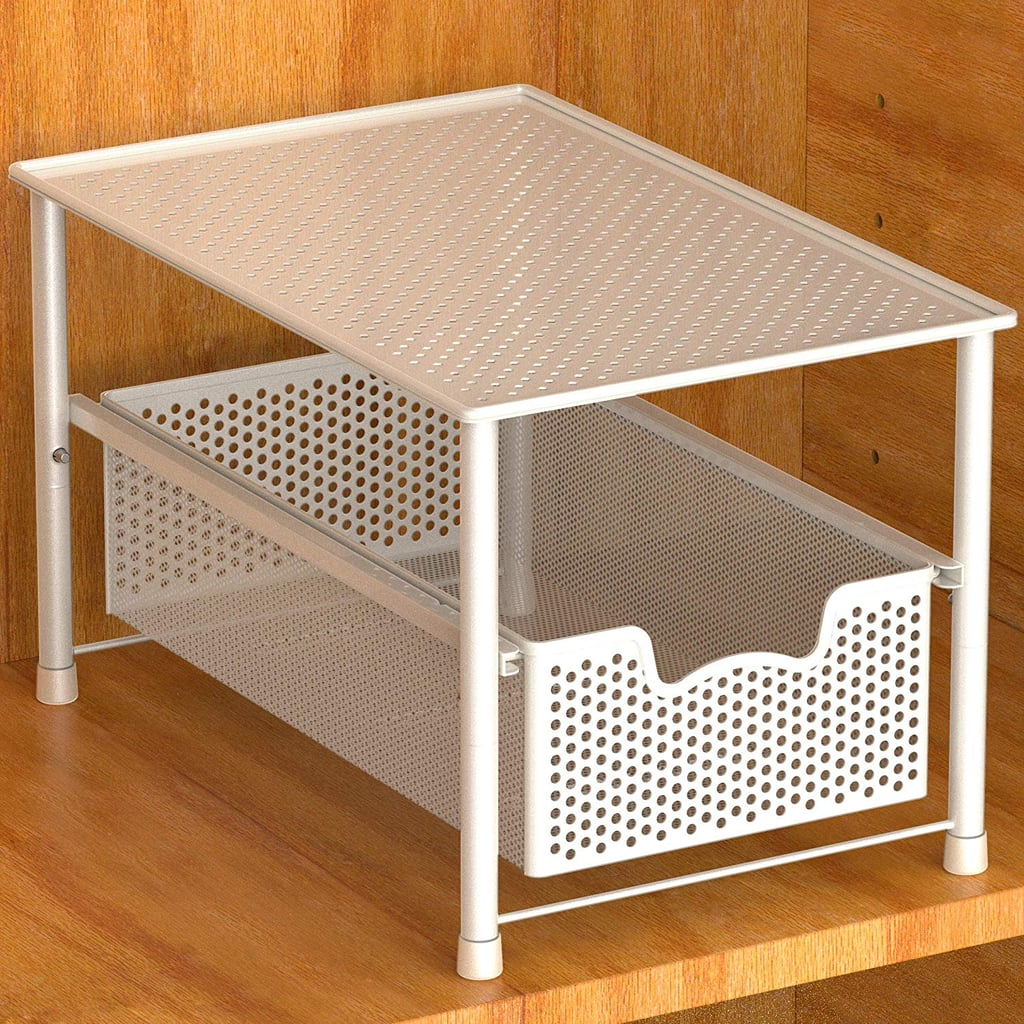 Simple Houseware Stackable Under-Sink Cabinet Sliding Basket