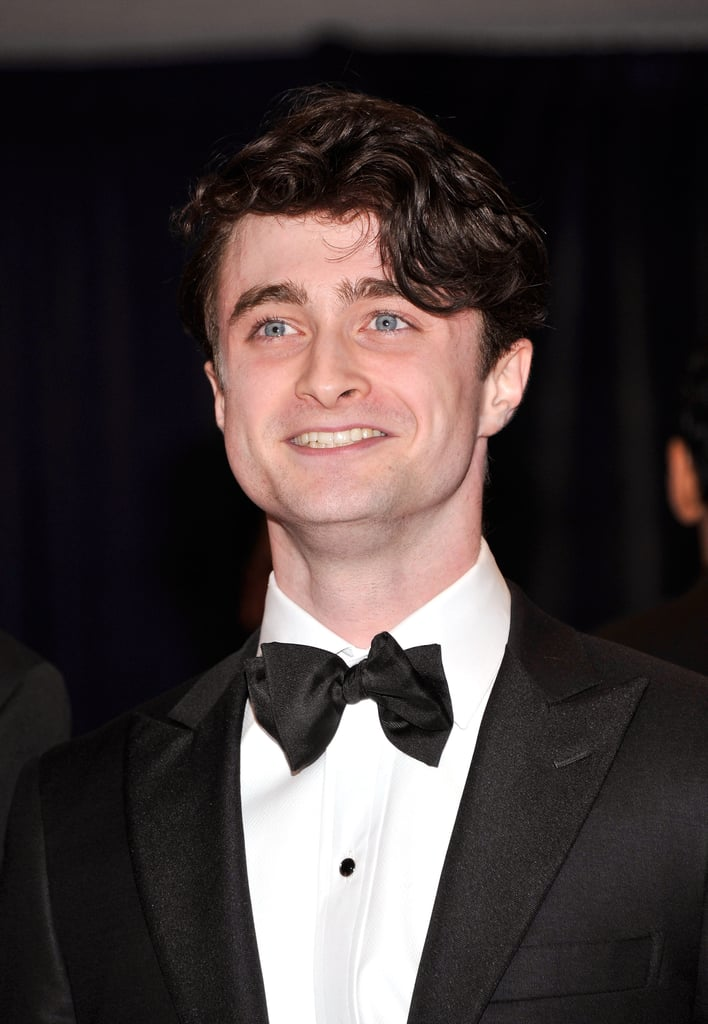 Daniel Radcliffe wore a black bow tie to the event.