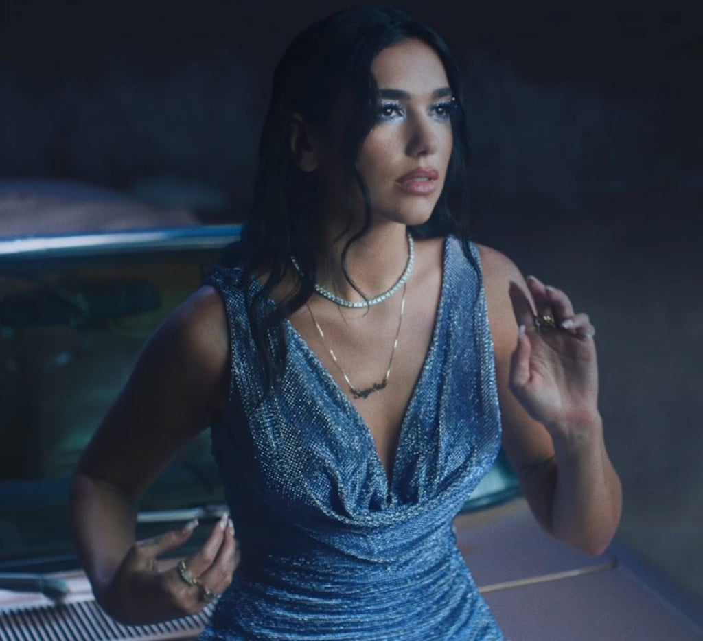 "Dua Lipa Wears Versace and Mugler in Her ""Levitating"" Video"