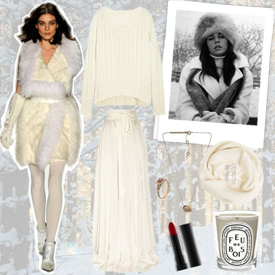 Winter White Inspired Style 2012