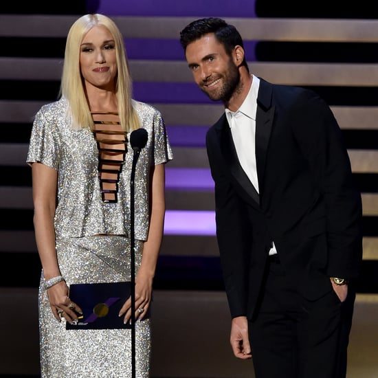 Gwen Stefani Mispronounces Stephen Colbert's Name at Emmys