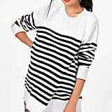 Boohoo Maternity Evelyn Striped Sweater
