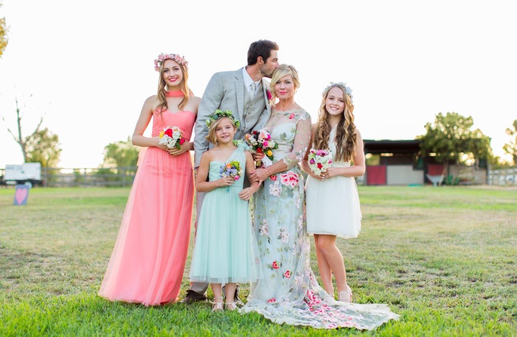 Jennie Garth and Dave Abrams' Wedding