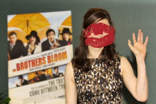 Rachel Weisz at Brothers Bloom Presentation