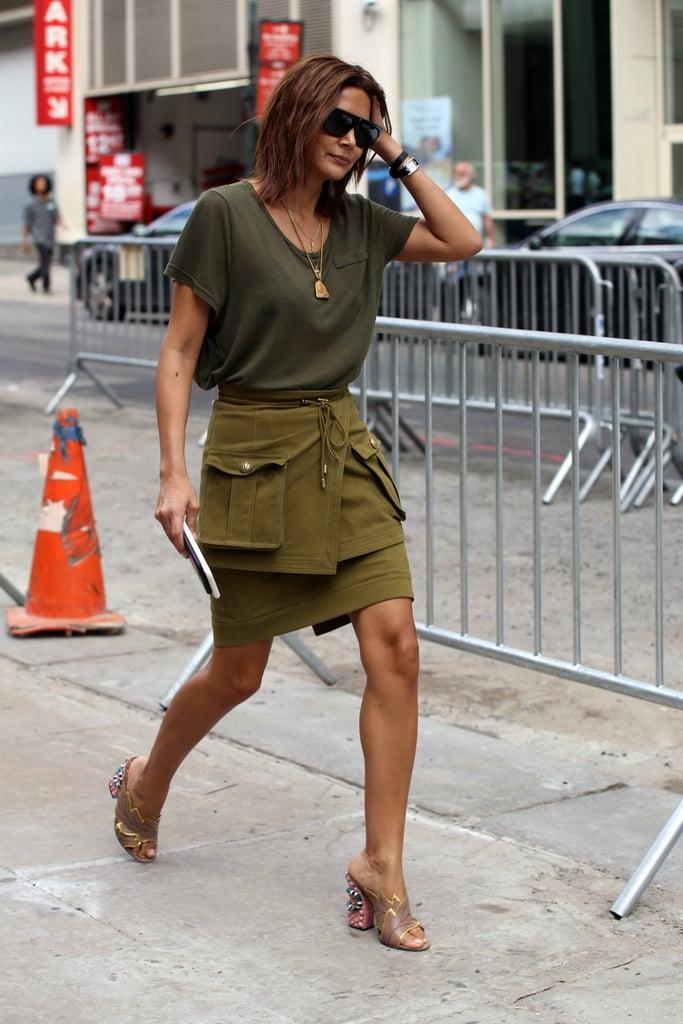 Christine Centenera at New York Fashion Week Spring 2017