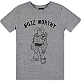 Pixar Buzz Worthy Graphic Tee ($16)