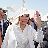 Kim Cattrall, Oaks Day 2012