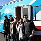 Nick Zano, Zachary Quinto, Ben McKenzie, Rachael Leigh Cook, and Bryan Greenberg gathered to promote early voting in Colorado. Source: Facebook user Obama For America