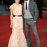 Keira Knightley and Jude Law.