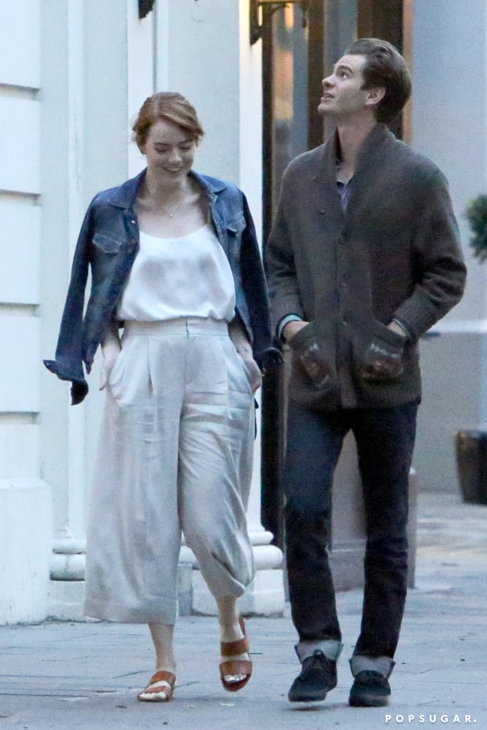 andrew garfield and emma stone relationship 2016