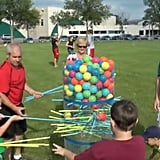 Make a Giant Version of Kerplunk