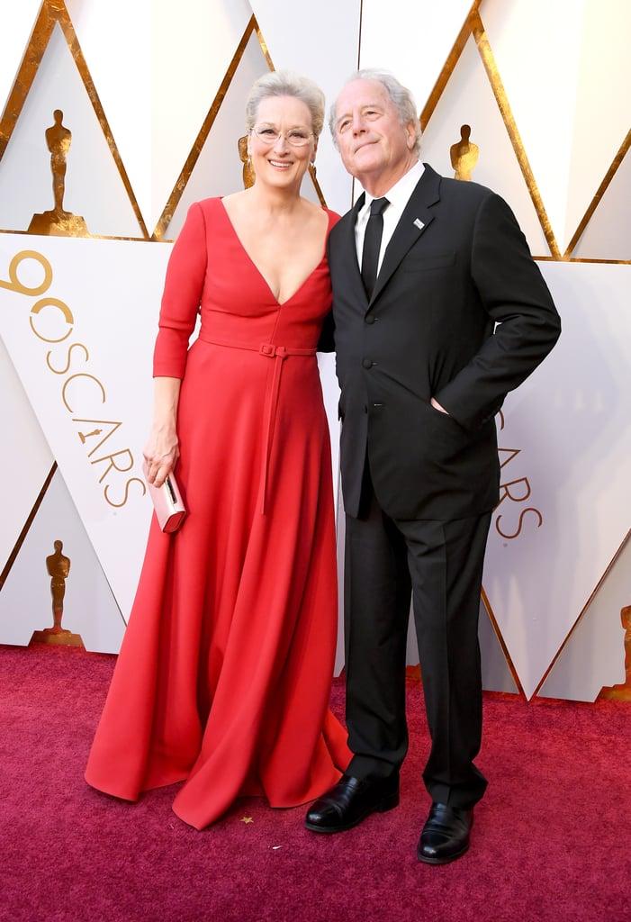 Meryl Streep and Don Gummer at the 2018 Oscars