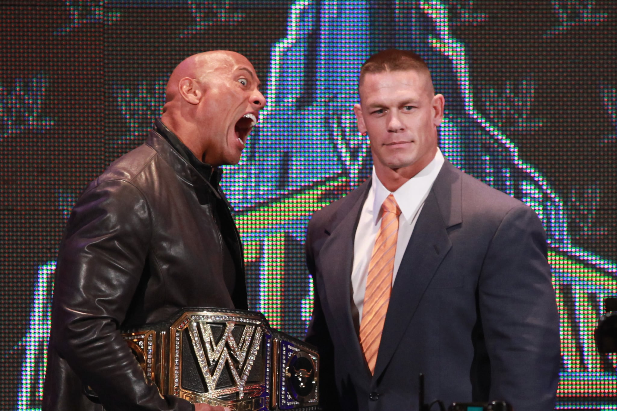 Are The Rock and John Cena Friends? | POPSUGAR Celebrity