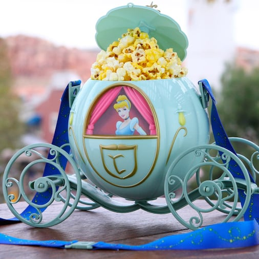 Disneyland Has a Cinderella's Carriage Popcorn Bucket