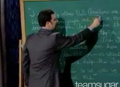 Jimmy Kimmel Dissects Miss Teen SC's Intriguing Speech Defects