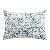 Kilim Green Lumbar Pillow