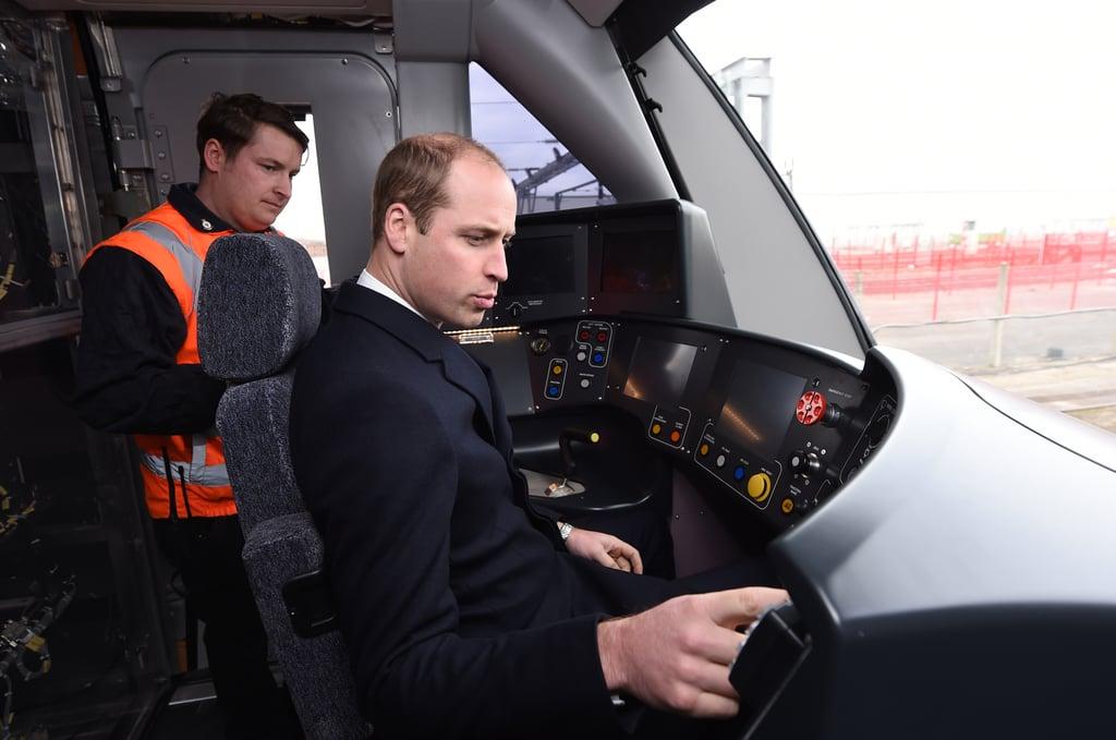 Prince William Visits Derby November 2016