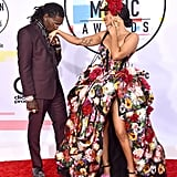 Offset and Cardi B at the American Music Awards in 2018