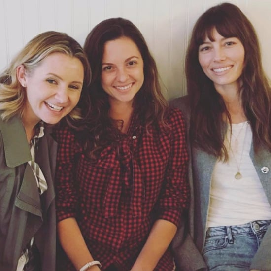 Jessica Biel and Beverley Mitchell Reunion Photo 2017
