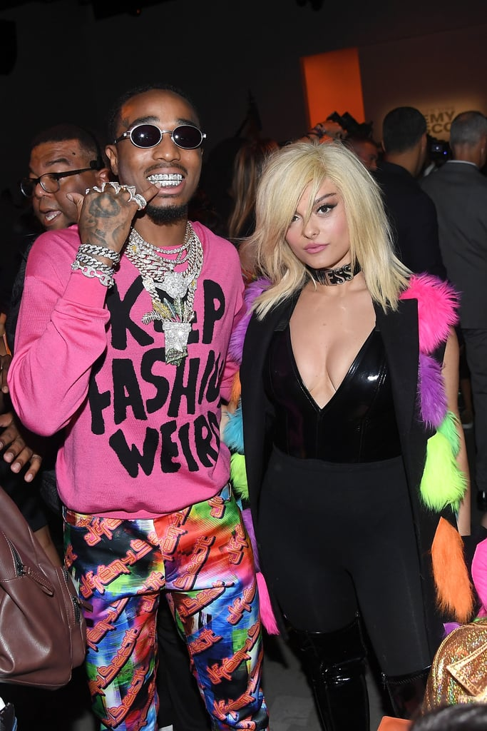Pictured: Quavo and Bebe Rexha