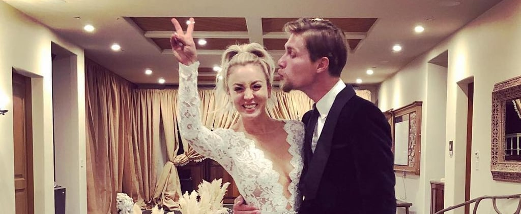 Kaley Cuoco's Wedding Dress 2018