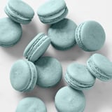 Baby Yoda's Blue-Milk Macarons From The Mandalorian | Recipe
