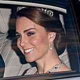 The Duchess of Cambridge Just Debuted a Royal Heirloom That Hasn't Been Seen in Over 30 Years
