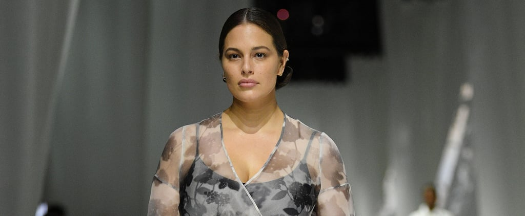 Ashley Graham Returns to Fendi Runway After Maternity Leave