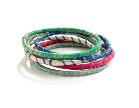 There's always room on your wrist for a stack of cool striped bangles. Indego AfricaTM Striped Bangle ($10)