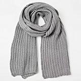 Made in Mada Rib Knit Scarf ($70)