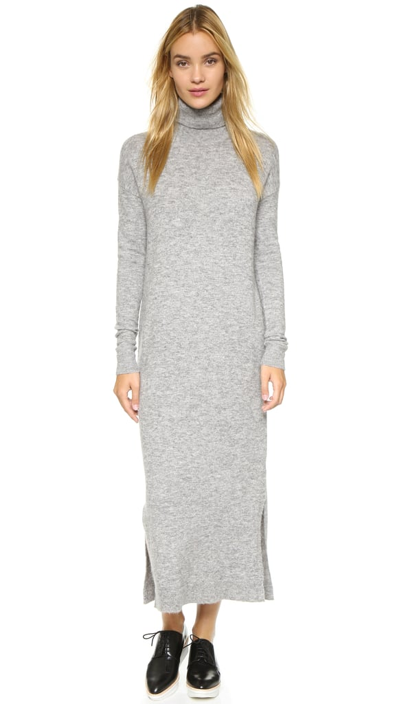Give in to lazy Winter days without actually looking lazy? Yes — my plan involves throwing on this cozy Designers Remix Alta Knit Dress ($330) with a pair of sneakers.  — HM