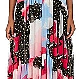 Philosophy di Lorenzo Serafini Women's Star-Print Silk Georgette Maxi Dress